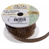 Faux Snake Leather 10x2mm (3m Spool) Natural